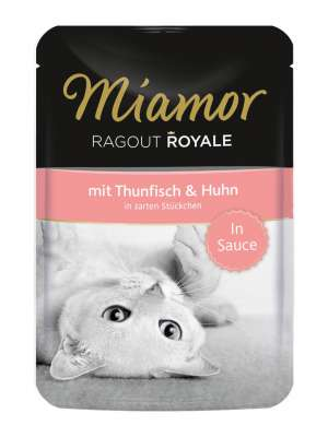 Miamor Ragout Royale in Sauce Thunfisch & Huhn 100 g