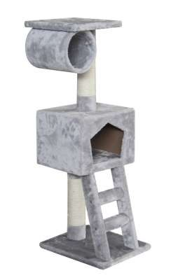 EBI Classic Cat Tree Abigail Gris clair 40x35x109 cm
