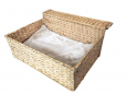 Radiator Bed Cloud Nine water-hyacinth  Bege por EBI