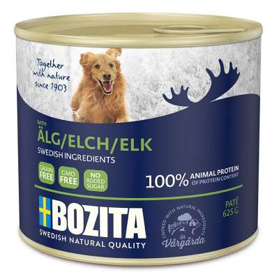 Bozita Paté con Alce in Lattina  625 g, 200 g