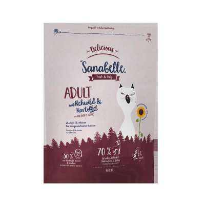 Sanabelle Delicious with Roe Deer & Potato 400 g, 2 kg