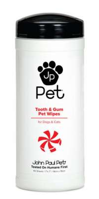 John Paul Pet Tooth & Gum Pet Wipes 1 pcs