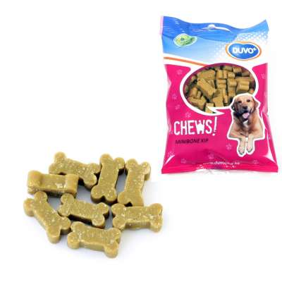 DUVO+ Soft chew Mini Bone Chicken 125 g Poulet