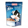As Good as it Looks Doubly Delicious Fish with Sardine & Salmon in Jelly 100 g från Felix