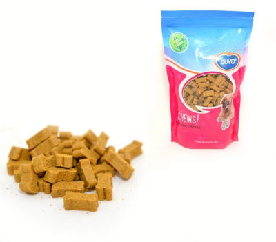 DUVO+ Soft Chew Mini Bone Chicken Doypack 450 g Chicken