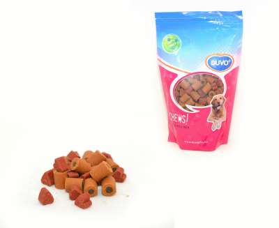 DUVO+ Soft chew Mix Herz/Rolle doypack 450 g