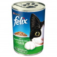 Felix Chunks with Rabbit & Duck in Jelly 400 g billigt