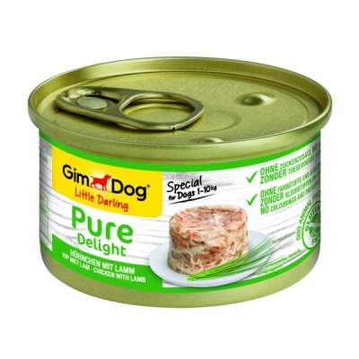 GimDog Little Darling Pure Delight com Frango e Cordeiro  85 g, 150 g