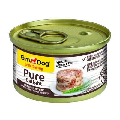 GimDog Little Darling Pure Delight Pollo con Manzo  85 g, 150 g