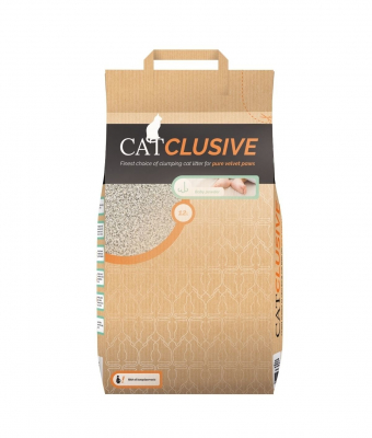 EBI Catclusive Cat Litter with Babypowder Scent Babypowder Scent  12 kg