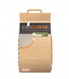 EBI Catclusive Cat Litter with Forest Breeze Scent  12 kg
