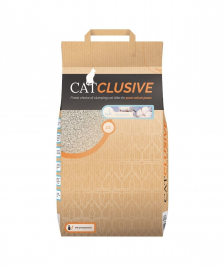 EBI Catclusive Cat Litter with Fresh Cotton Scent  12 kg