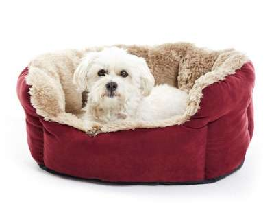 Hunter Dog Sofa Kiruna Bordeaux S
