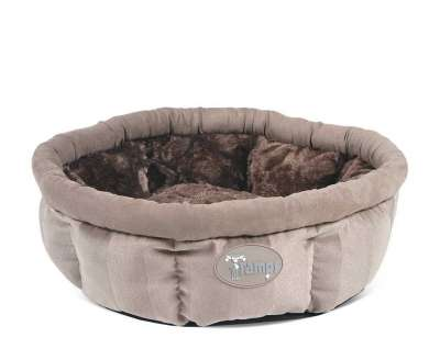 Scruffs Tramps AristoCat Ring Bed Beige braun