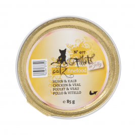 Fillets No.407 Huhn & Kalb in Jelly Catz Finefood 0000042343752