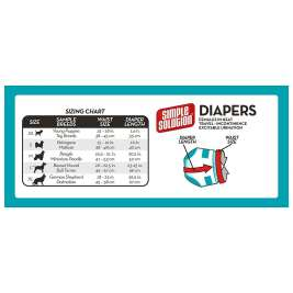 Simple Solution Disposable Dog Diapers X-Large  XL shop