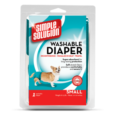 Simple Solution Pañal desechable Small S