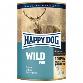 Supreme Sensible Wild Pur - (Riistaa) Happy Dog 4001967106367