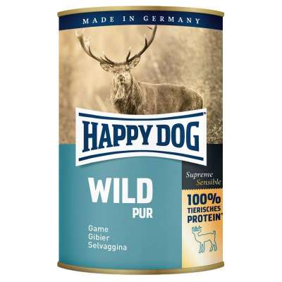 Happy Dog Supreme Sensible Gibier Pur  200 g, 400 g, 800 g