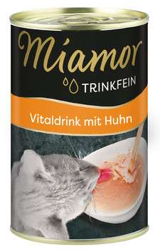 Miamor Trinkfein Vitaldrink with Chicken 135 ml