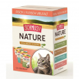 Nature Vollwert-Flakes Poisson/Viande Multibox Schmusy 12x100 g