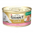 Gourmet Gold - Fine Pâté with Trout & Tomato 85 g från Purina