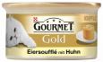 Purina Gourmet Gold - Egg Soufflé with Chicken 85 g billigt