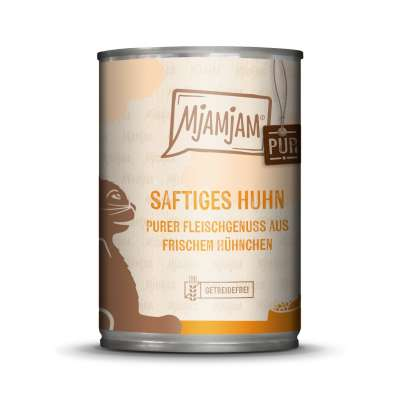 MjAMjAM Pure Meaty Delight - Juicy Chicken pure 125 g, 200 g, 400 g
