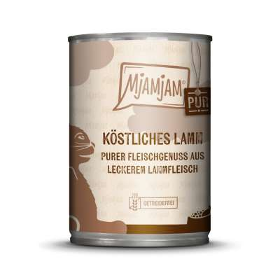 MjAMjAM Pure Meaty Delight - Tasty Lamb pure 400 g, 200 g, 125 g
