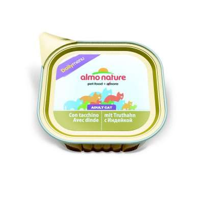 Almo Nature DailyMenu Adult Cat mit Truthahn 100 g, 32x100 g