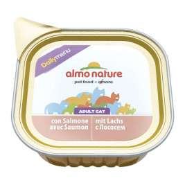 Almo Nature DailyMenu Adult Cat cu Somon  32x100 g