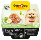 GimDog Fruity Menu Ragout with Turkey, Apple and Vegetables  100 g