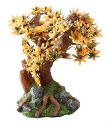 EBI Aqua Della Bonsai Medio Sort A Hell orange 15 cm