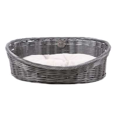EBI D&D Homecollection Rustic Rattan XS 43x36x15 cm Grau