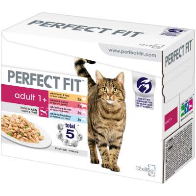 Perfect Fit Adult 1+ Mix Multipack 12x85 g