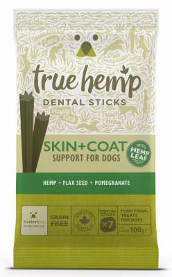 True Hemp Dental Sticks Skin & Coat  100 g