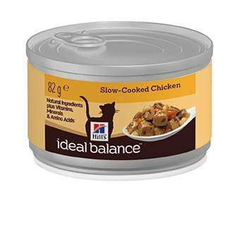 Hill's Ideal Balance Feline Adult Chicken 12x82 g