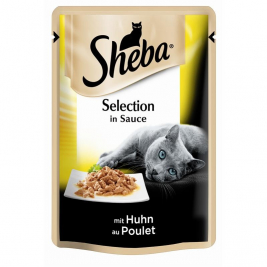 Selection in Sauce mit Huhn Sheba  3065890096806