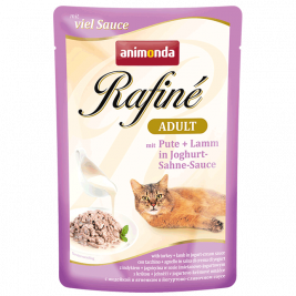 Animonda Rafiné with Sauce Adult with Turkey and Lamb in Jogurt & Cream Sauce  100 g
