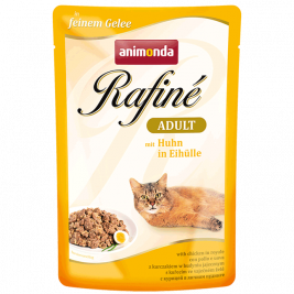 Animonda Rafiné with Jelly Adult, Chicken in Royale  100 g