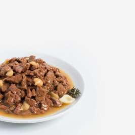 Rafiné with Sauce Adult with Chicken, Duck and Pasta 100 g by Animonda