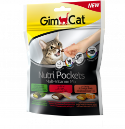 Nutri Pockets Malt-Vitamin Mix GimCat 4002064400693