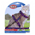 Trixie Kitten Harness with Leash, Nylon 120 cm Halvat