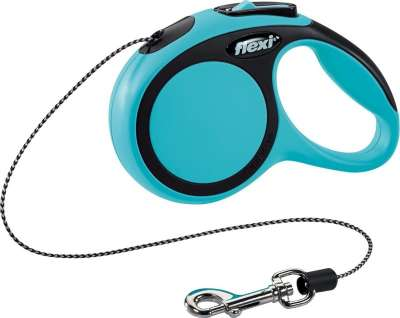 Flexi New Comfort, Cord Leash Lyseblå XS/3m