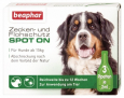 Beaphar Flea and Tick Spot On Solution for Large Dogs (from 15 kg) 3x2 ml billige