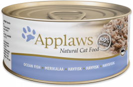 Natural Cat Food Seefisch von Applaws 70 g EAN: 5060122490047