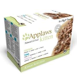 Applaws Natural Cat Food - Multipack Kitten Selection 6x70 g