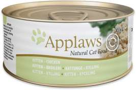 Natural Cat Food - Multipack Kitten Selection 6x70 g by Applaws