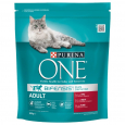 Purina ONE Bifensis Adult con Manzo e Cereali Integrali 800 g - Purina alimento secco per gatti adulti