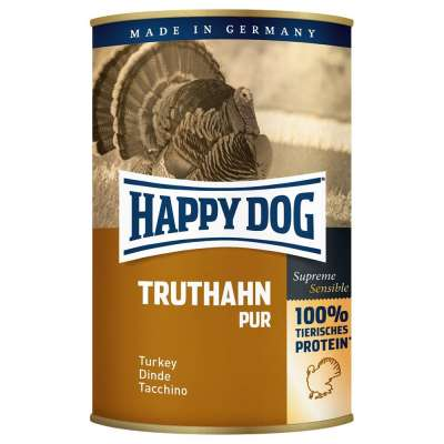 Happy Dog Kalkkuna Pur  800 g, 400 g, 200 g